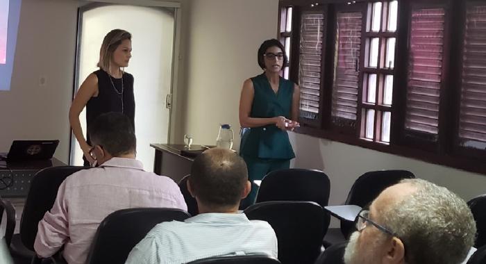 Ingrid Gadelha e Marina Gadelha participam de encontro que abordou licenciamento ambiental730x480