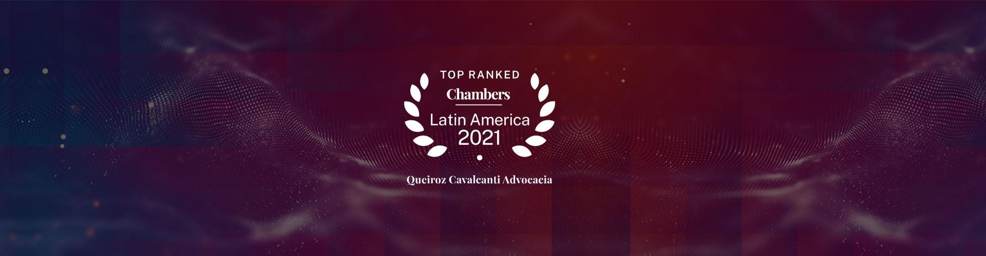Chambers and Partners – maior guia jurídico do mundo – nos destacou novamente como o escritório com mais advogados ranqueados do Nordeste